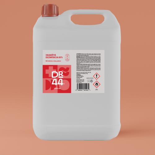 DR.44 Okamžitá dezinfekcia 85% kanister 5000 ml