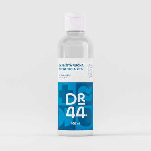 DR.44 Okamžitá ručná dezinfekcia 75% - flip-top 100 ml